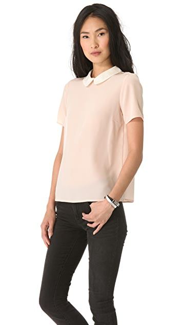Marc by Marc Jacobs Alex Collar Top