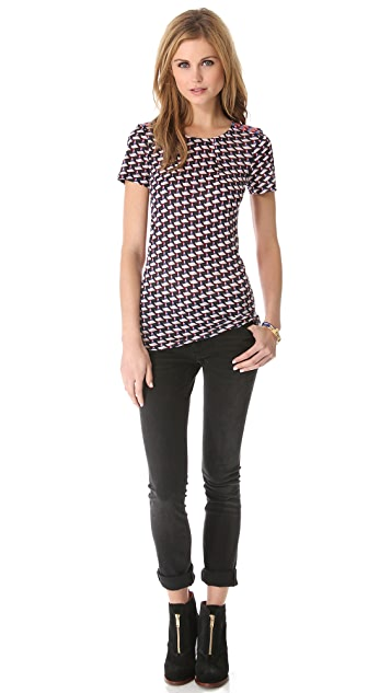 Marc by Marc Jacobs Puzzle Print Tee