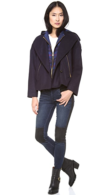 Marc by Marc Jacobs Nicoletta Wool Jacket