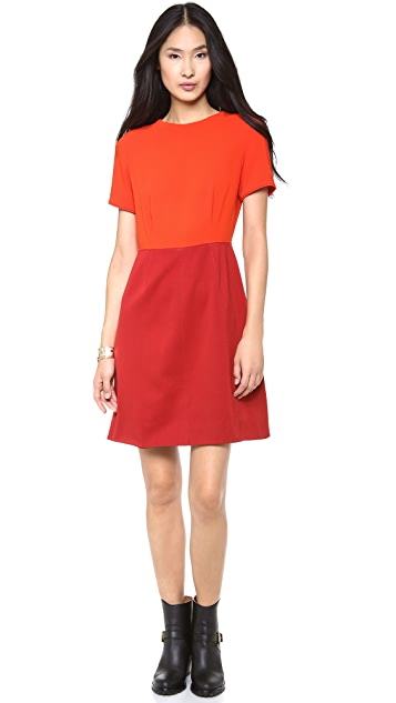 Marc by Marc Jacobs Spongy Wool Twill Dress