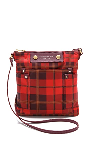Marc by Marc Jacobs Preppy Nylon Aimee Plaid Sia Bag