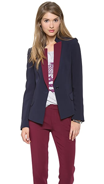 Marc by Marc Jacobs Sparks Crepe Blazer