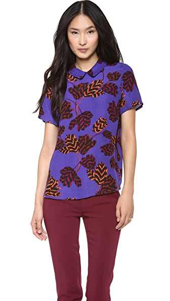 Marc by Marc Jacobs Mareika Tulip Blouse