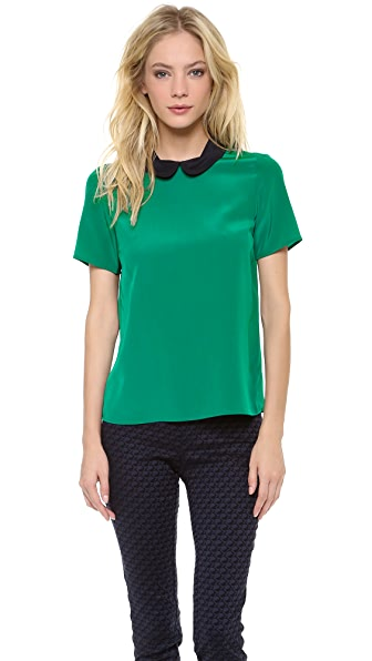 Marc by Marc Jacobs Alex Crepe De Chine Blouse