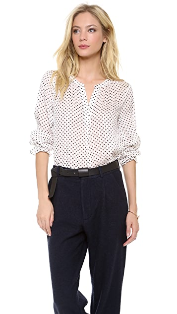 Marc by Marc Jacobs Minetta Print Blouse
