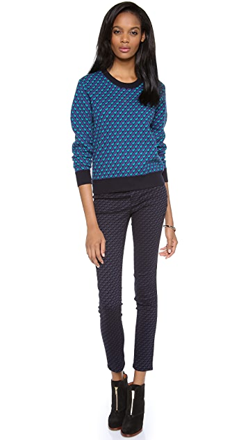 Marc by Marc Jacobs Luna Jacquard Sweater
