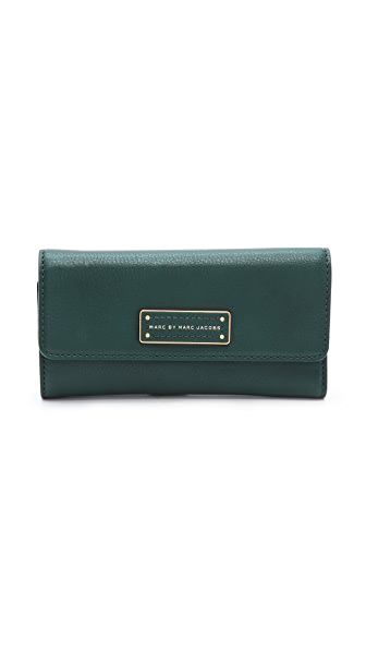 Marc by Marc Jacobs Too Hot To Handle Long Tri-Fold Wallet