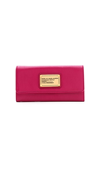 Marc by Marc Jacobs Classic Q Long Trifold Wallet