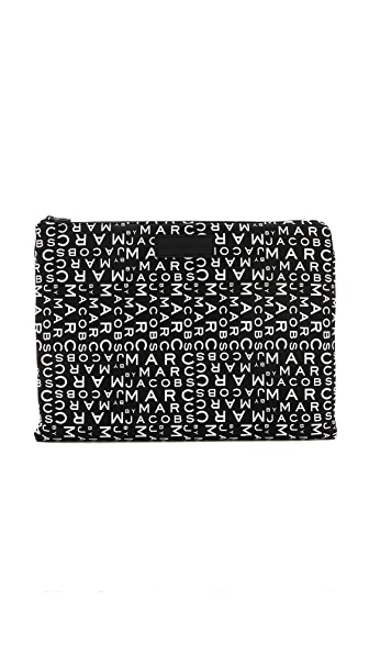 "Marc by Marc Jacobs MBMJ New Jumble Logo Neoprene 13"" Computer Case"