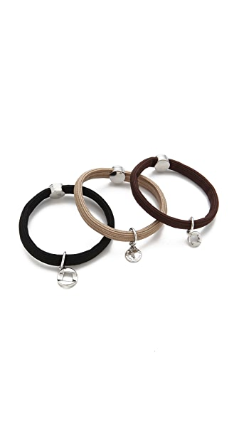 Marc by Marc Jacobs Link to Katie Cluster Pony Hair Ties