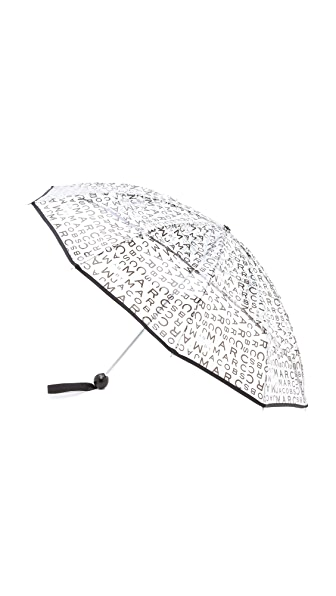 Marc by Marc Jacobs MBMJ New Jumbled Logo Umbrella
