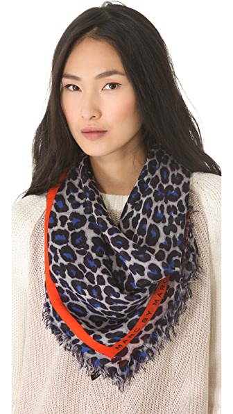 Marc by Marc Jacobs Lenora Leopard Scarf