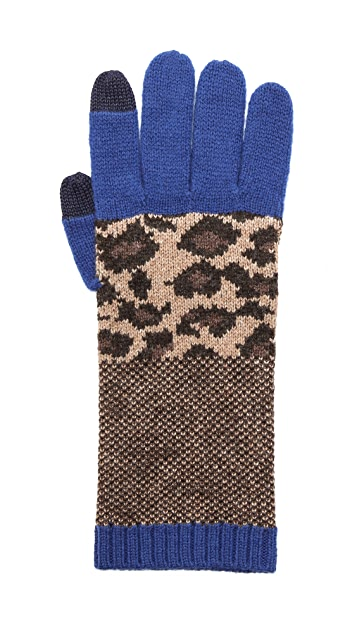 Marc by Marc Jacobs Lenora Leopard Gloves