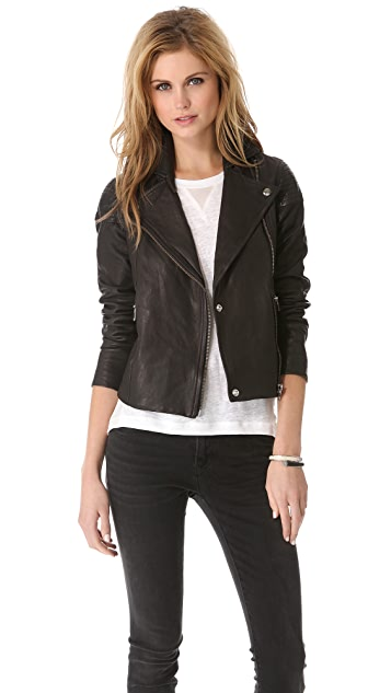 Marc by Marc Jacobs Sergeant Leather Jacket