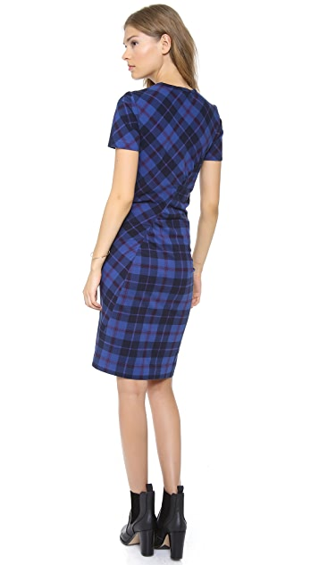 Marc by Marc Jacobs Penn Plaid Dress