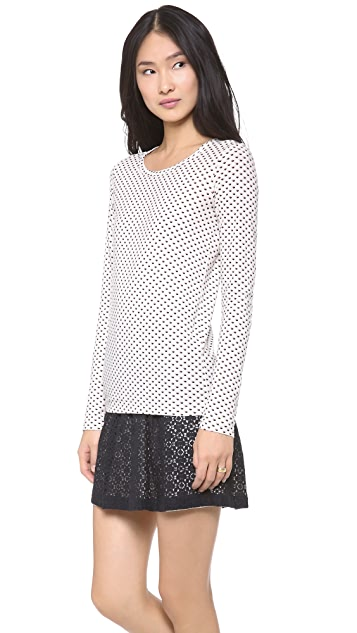 Marc by Marc Jacobs Minetta Print Jersey Tee