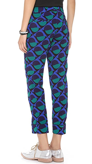 Marc by Marc Jacobs Etta Print Pants
