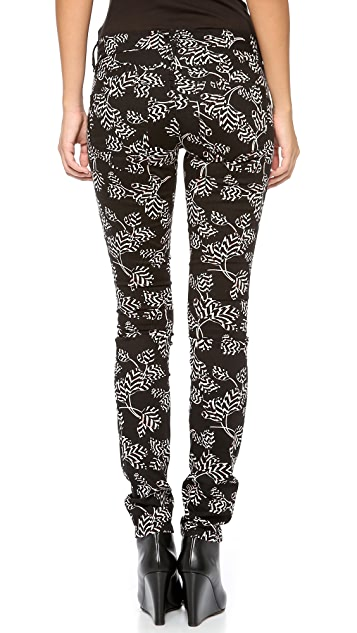 Marc by Marc Jacobs Mid Rise Stick Jeans