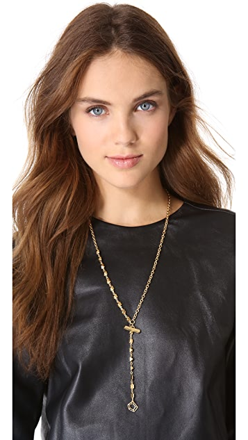 Marc by Marc Jacobs Tiny Stud Long Necklace