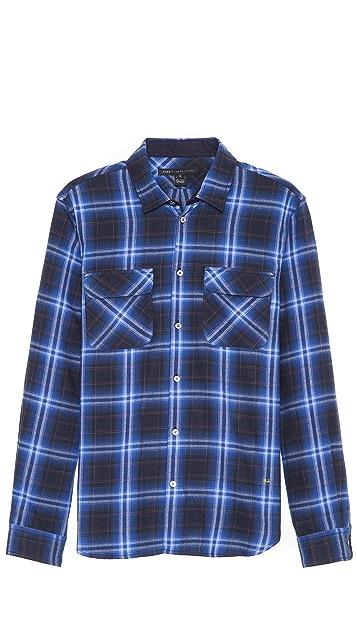 Marc by Marc Jacobs Burlington Large Plaid Sport Shirt