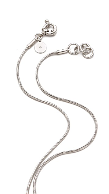 Marc by Marc Jacobs ID Pendant Necklace