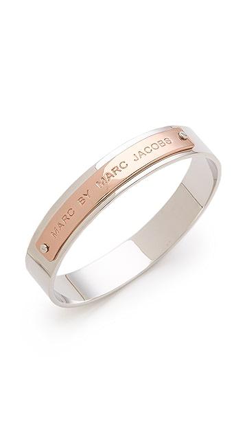 Marc by Marc Jacobs Logo Bangle Bracelet
