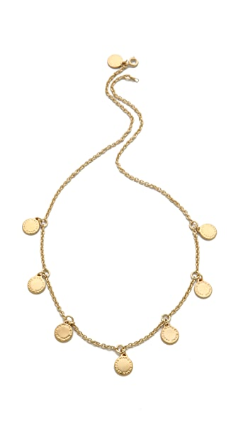 Marc by Marc Jacobs Logo Charm Necklace