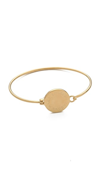 Marc by Marc Jacobs Big Logo Hinge Bracelet