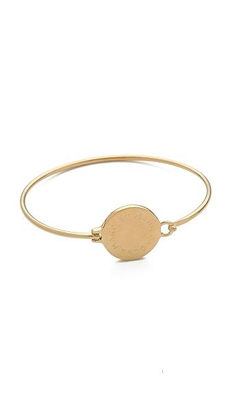 Marc by Marc Jacobs Big Logo Hinge Bracelet