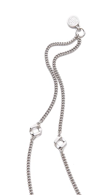 Marc by Marc Jacobs Long Link Necklace
