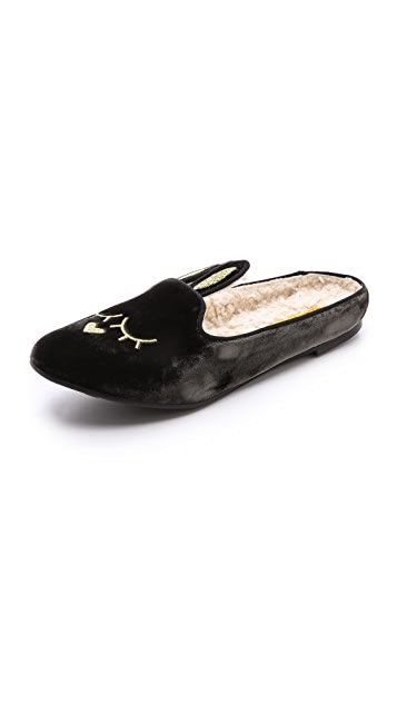 Marc by Marc Jacobs Sleeping Bunny Slippers