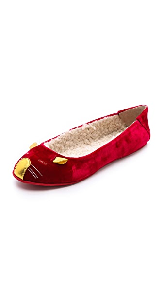 Marc by Marc Jacobs Sleeping Mouse Slippers