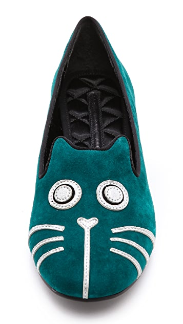 Marc by Marc Jacobs Rue Cat Flat Loafers