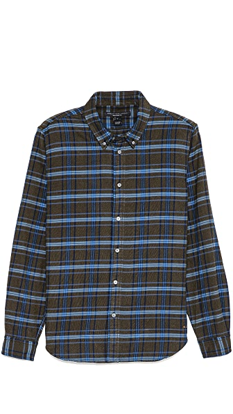 Marc by Marc Jacobs Greenwich Flannel Shirt