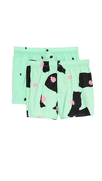 Marc by Marc Jacobs 2 Pack Ladybug Boxers