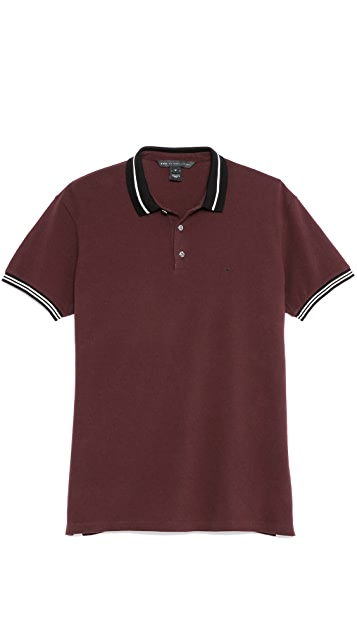 Marc by Marc Jacobs Tipped Logo Polo