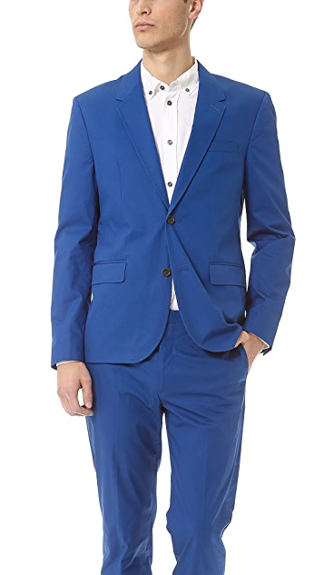 Marc by Marc Jacobs Harvey Twill Suit Jacket