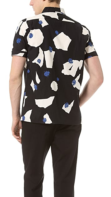 Marc by Marc Jacobs Large Ladybug Print Sport Shirt