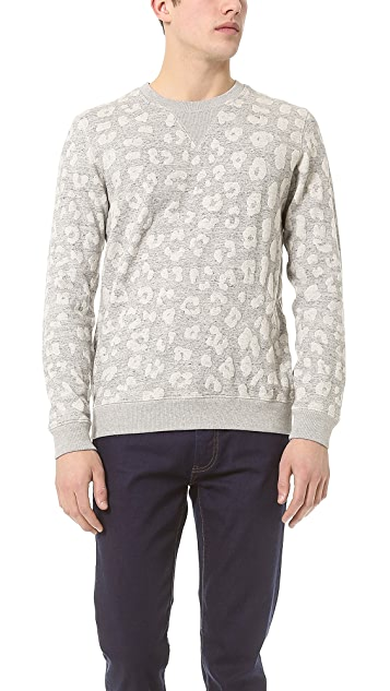Marc by Marc Jacobs London Leopard Sweatshirt