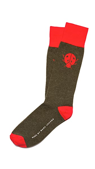 Marc by Marc Jacobs Ladybug Socks