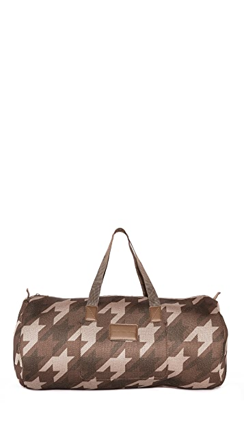 Marc by Marc Jacobs Mesh Houndstooth Packable Large Duffel