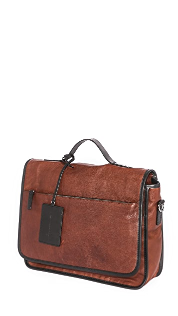 Marc by Marc Jacobs Two Tone Leather Messenger Bag