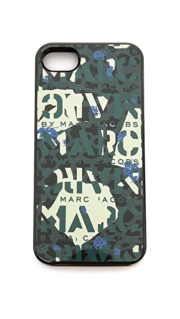 Marc by Marc Jacobs Jungle Logo iPhone 5 and 5S Case
