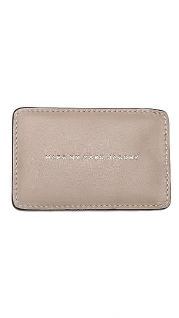 Marc by Marc Jacobs Leopard Print Card Case