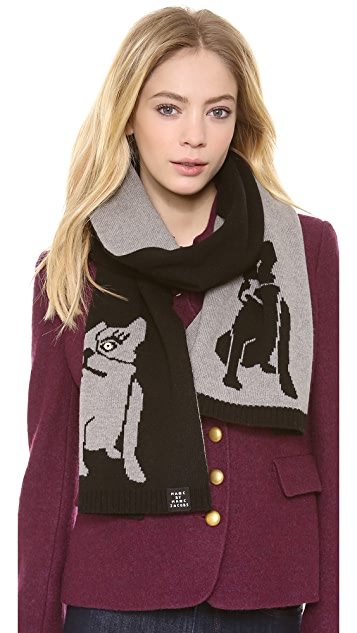 Marc by Marc Jacobs Olive Scarf