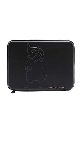 "Marc by Marc Jacobs Don't Sweat My Pet Tech Olive 13"" Computer Case"