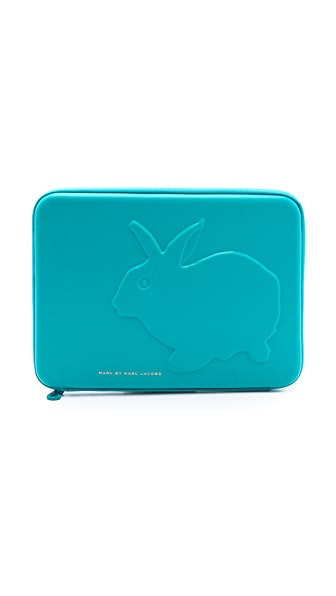 "Marc by Marc Jacobs Don't Sweat My Pet Tech Rabbit 13"" Computer Case"