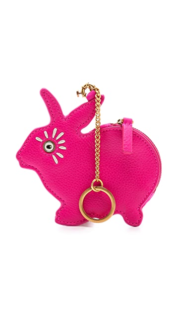 Marc by Marc Jacobs Rabbit Animal Zip Pouch