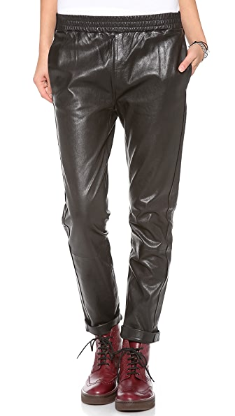 Marc by Marc Jacobs Karlie Leather Pants