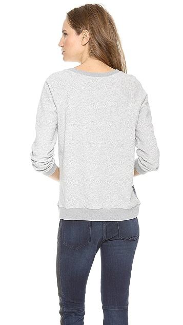 Marc by Marc Jacobs Lena Printed Sweatshirt